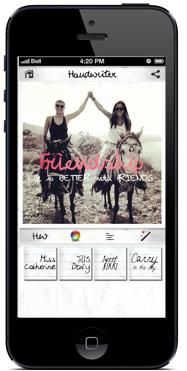handwriter app