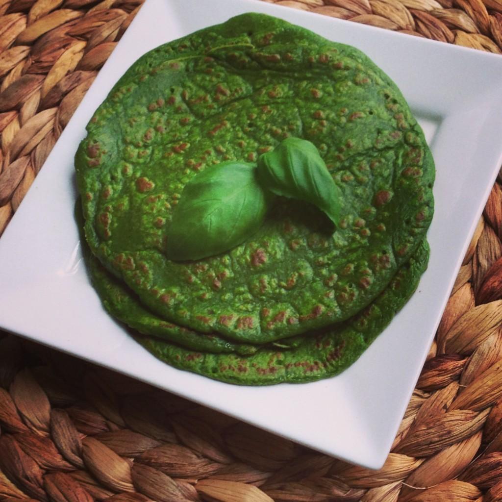 groene pannenkoeken by Toetski