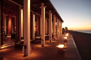 Beach restaurant Chedi