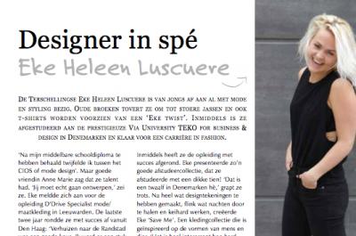 Friesland Post | Fries Fashion Design / Najaarsmode (tekst & beeldredactie)